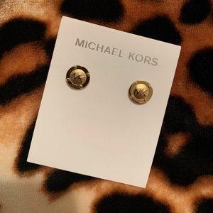MK Earrings.